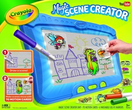 Crayola Magic Scene Creator Drawing Kit for Kids Creative Toys Ages 3 4 ... - $100.86