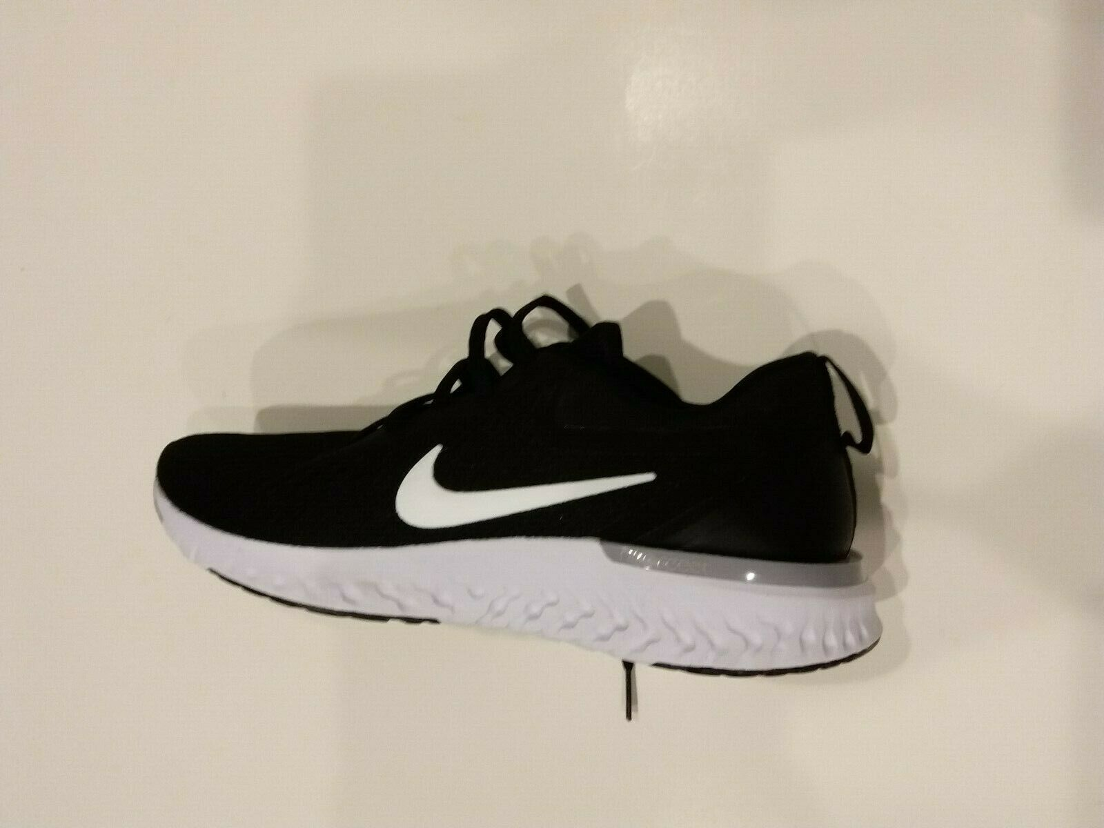 Primary image for Nike Women's Odyssey React Running Shoes Size: 10.5 AO9820 001 Black/White-Wolf