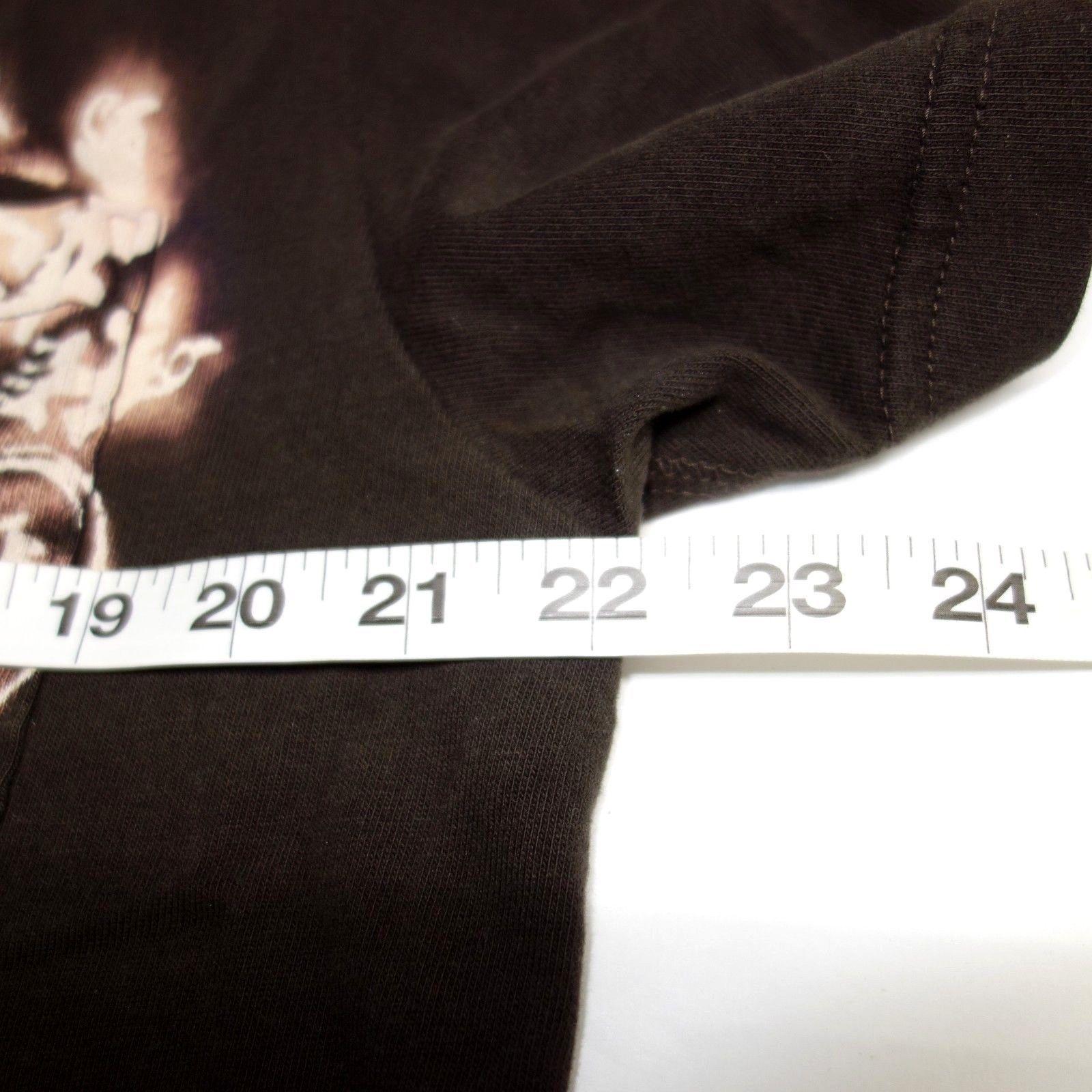 Gap Pocket Polo Shirt Men's Large Brown Cotton Bleached Design Established 1969 image 8