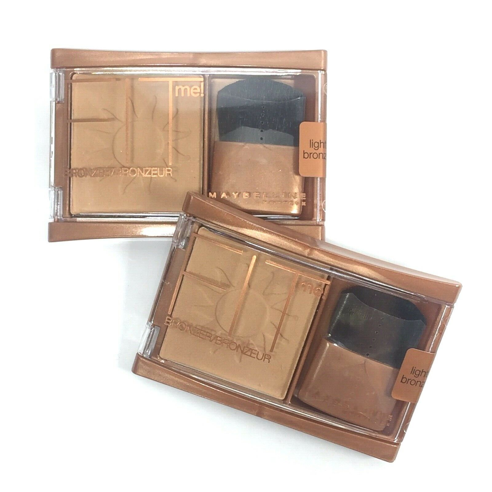 Primary image for Maybelline Fit Me! Bronzer Lot of 2, Light Bronze, 0.16 Ounce Full Size