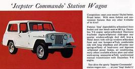 1967 Jeep Jeepster Commando Station Wagon - Promotional Advertising Poster - $9.99+