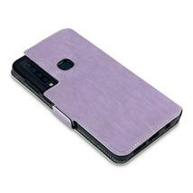 Slim Profile Composite Fusion Cover Black Wallet Book Purple Case Galaxy A9 2018 - $19.85