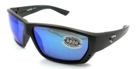 Costa Del Mar Sunglasses Tuna Alley 62-11-125 Matte Steel/Blue Mirror 58... - $245.00