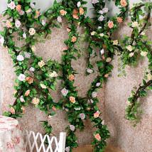 ZAHEKAMO 6 Colors Artificial flowers Garden Decor Wedding - $30.95