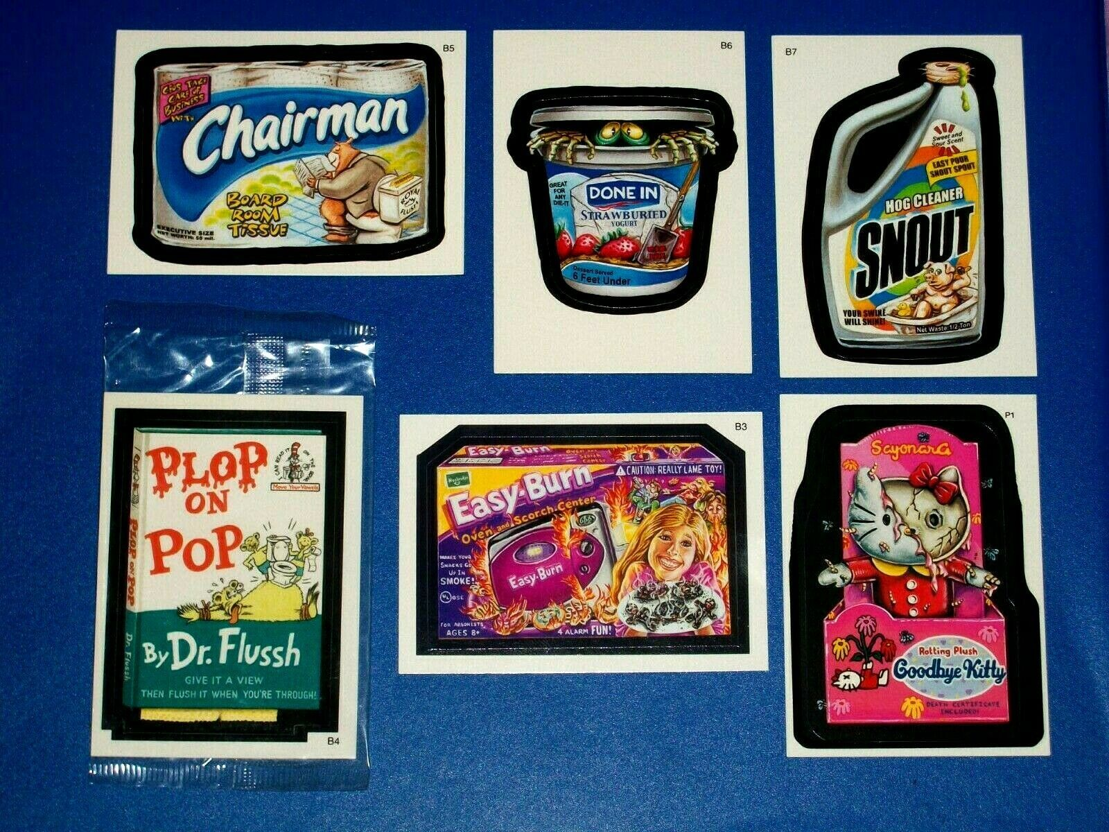 2005 Wacky Packages All New Series 2 {ANS2} Complete Bonus Sticker Set + Promo