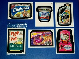 2005 Wacky Packages All New Series 2 {ANS2} Complete Bonus Sticker Set +... - $14.89