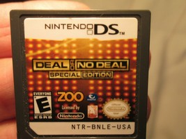 Deal or No Deal Special Edition (Nintendo DS, 2010) Cartridge Only Tested Works - $3.00