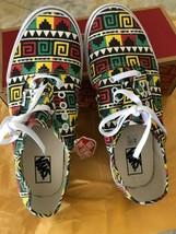 Van Vans Geo Reggae Rasta Tribal Surfen Gelb Rot Grün M 11.5 Schuhe Neu mit - $44.53