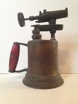 Vintage Plumber's Blow Torch & Ceramic Melting Cradle - $45.00