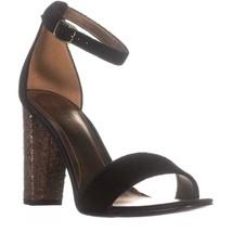Marc Fisher Factor2 Ankle-Strap Dress Sandals, Black, 7.5 US - $27.83