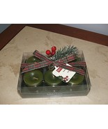 NEW IN BOXED SET Pier 1 Imports Christmas Forest  Festive Votive Candles - $24.74