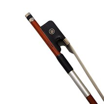 Paititi Full Size Viola Bow Pernambuco Wood with Double Pearl Eye Mongol... - $98.99