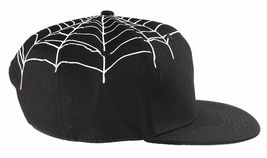 40 Oz NYC Forty Ounce New York Black Top Spider Web Snapback Baseball Hat NWT image 4