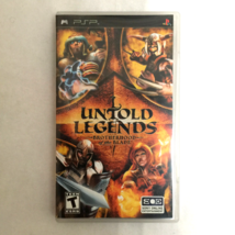 Untold Legends Brotherhood of the Blade Sony PSP Complete - $12.50
