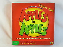 Apples to Apples 2007 Party Box Board Game Mattel 100% Complete Near Mint - $14.79