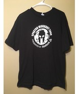 Reebok Spartan Workout Tour T-Shirt Shirt Adult Extra Large XL Black Tra... - $13.71