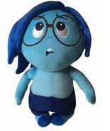 "Disney Store Inside Out Sadness Plush 10"" Feeling Blue Sad Girl - $18.49"
