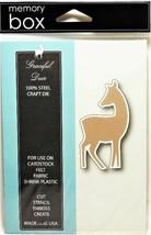 Memory Box Graceful Deer Die, 100% Steel Craft Die