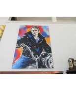 John Stango,Stango 95, James Dean ,Original Oil on Canvas ,Approximately... - $11,875.05