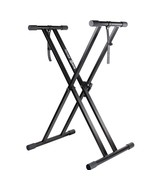 Digital Piano Keyboard Stand Electronic Sturdy Mount Rubber End Caps Rac... - $54.44