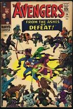 Avengers #24 ORIGINAL Vintage 1966 Marvel Comics Kang the Conqueror - $49.49