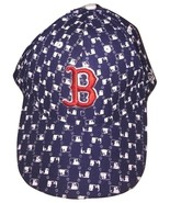 Mens MLB Navy Blue Boston Red Sox Embroidered Fitted Baseball Cap Hat 7 ... - $34.99