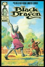 BLACK DRAGON #3 1985-MARVEL COMICS-LIMITED SERIES VF - $18.62