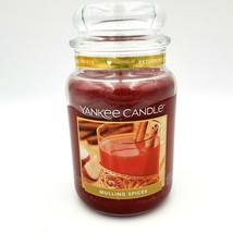 Yankee Candle MULLING SPICES Food Scented Large 22 oz. NEW - $57.88