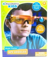 Discovery Kids Night Vision Spy Goggles Red LED Lights Ages 8+ New - $17.81