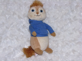 "Alvin And The Chipmunks 8"" Plush Simon Stuffed Animal Ty Beanie Baby 2011 - $13.45"