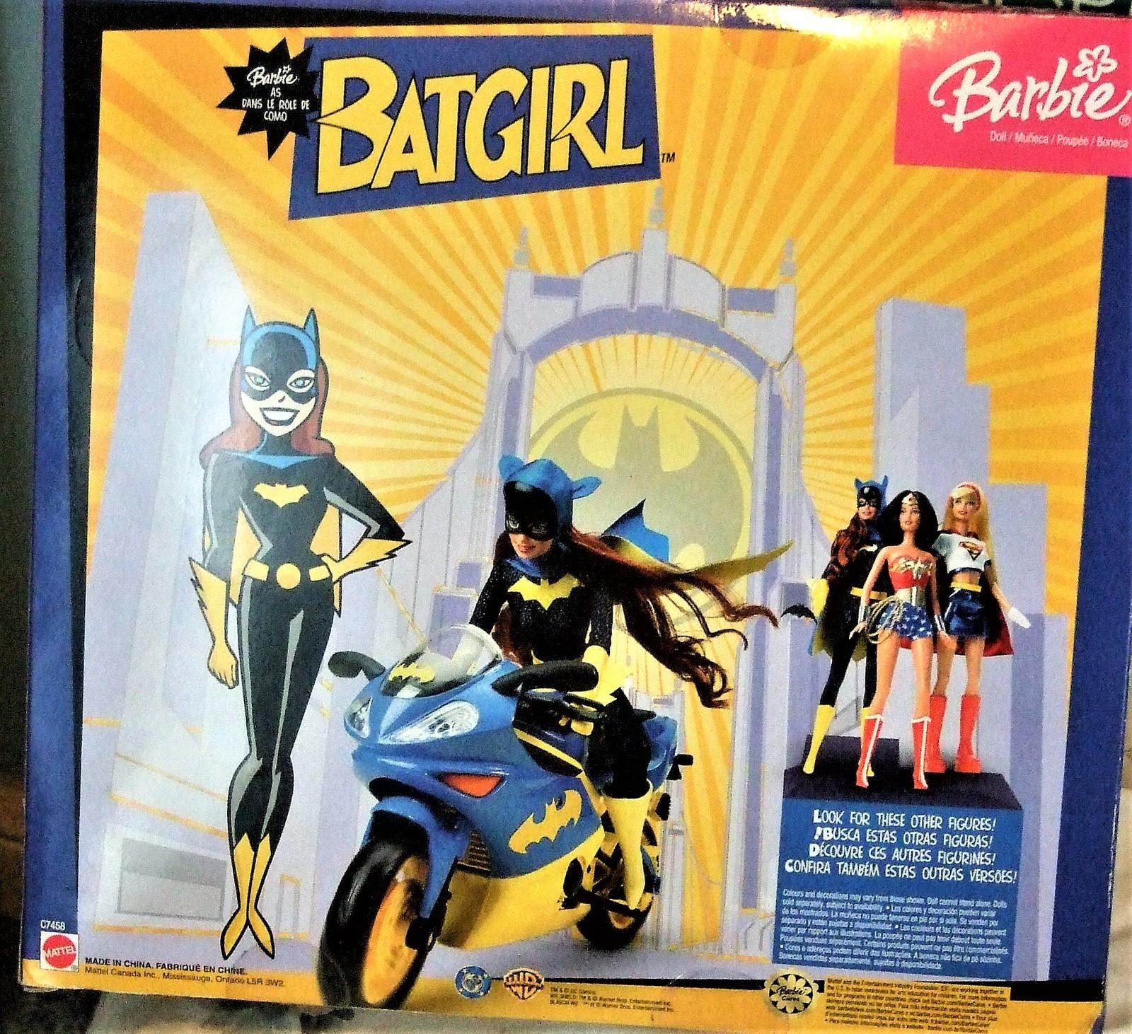 Barbie Doll - Barbie as Batgirl on Batgirl motorcycle