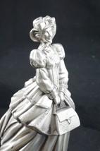 Vintage Silver/Pewter Avon Lady 1991 District Award Trophy - $28.54