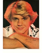John Schneider Leo Sayer teen magazine pinup clipping 70's Dukes of Hazzard - $1.50