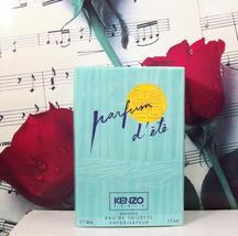 Kenzo Parfum D'ETe EDT Spray 1.7 FL. OZ. NWB. Vintage. - $139.99