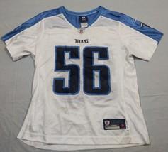59e37884ebd M39 New REEBOK On Field Tennessee Titans Akeem Ayers White Jersey  WOMEN'S M
