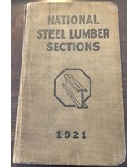 1921 National Pressed Steel Lumber Sections VINTAGE INDUSTRIAL Massillon... - $18.60