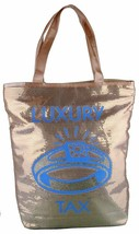 Hasbro Monopoly Luxury Tax Gold Sequins Tote Bag Officially Licensed image 1