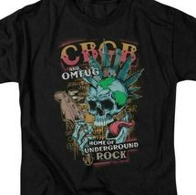 CBGB t-shirt Mowhawk Retro 70's Home of Underground Rock graphic tee CBGB121  image 3