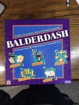 BALDERDASH 2003 Mattel Games The Classic Bluffing Game 5 Categories SEAL... - $19.57