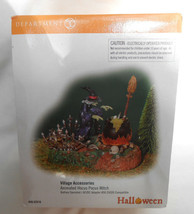 DEPT 56 HALLOWEEN ANIMATED HOCUS POCUS WITCH LIGHTED 52516 - $58.90