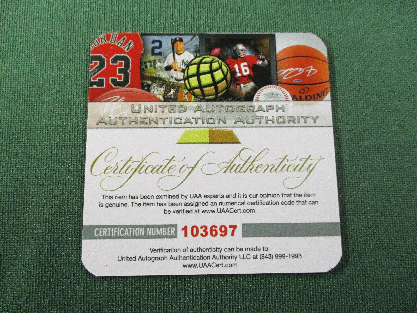23c9e67551e JOE NAMATH / NFL HALL OF FAME / HAND SIGNED NEW YORK JETS THROWBACK JERSEY /