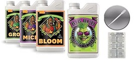 Advanced Nutrients Bloom, Grow, Micro 500mL & Big Bud 250mL Bundle with ... - $83.37