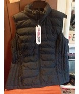 Heat Keep Packable Dark Blue Puffer Vest Womens Sz xl - $18.00