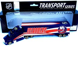 NEW YORK ISLANDERS TRACTOR TRAILER 2008 REPLICA DIECAST TRUCK GOLD WHEEL... - $14.99