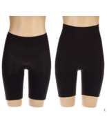 Spanx Power Series Shaping Short Set in Very Black, 1X - $50.48
