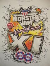 Monster Truck Jam World Finals XI 11 2010 Hot Rod Derby Souvenir T Shirt XL - $14.84