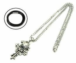FF8 Squall Leonhart wear type style motif necklace cross FINAL FANTASY VIII - $13.92