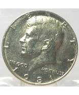 1981-P Kennedy Half Dollar BU In the Cello #0675 - $1.79