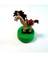 1999 Disney Pixar Toy Story Woody Best Friend BULLSEYE Horse Push & Coll... - $11.99