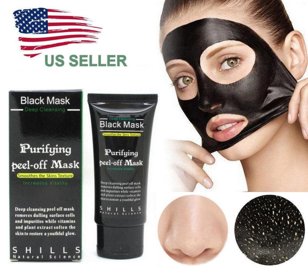 Primary image for USA SELLER Purifying Black Peel-off Mask Facial Blackhead Remover Charcoal Mask